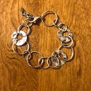 .925 sterling silver Silpada bracelet.